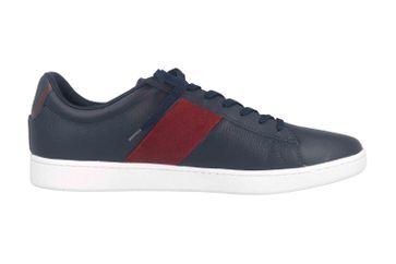Lacoste CARNABY EVO 319 1 SMA Sneaker in Übergrößen Blau 38SMA00145A5 große Herrenschuhe – Bild 4