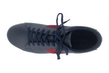 Lacoste CARNABY EVO 319 1 SMA Sneaker in Übergrößen Blau 38SMA00145A5 große Herrenschuhe – Bild 7