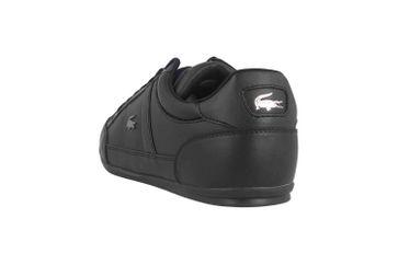 Lacoste CHAYMON BL 1 CMA Sneaker in Übergrößen Schwarz 37CMA009402H große Herrenschuhe – Bild 2