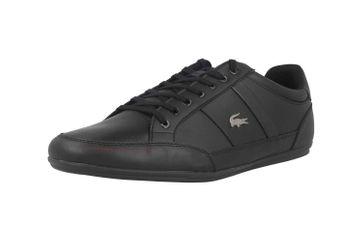 Lacoste CHAYMON BL 1 CMA Sneaker in Übergrößen Schwarz 37CMA009402H große Herrenschuhe – Bild 6