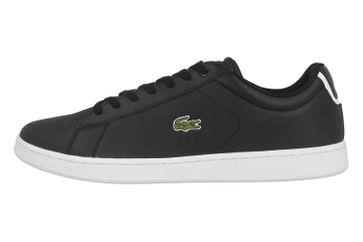 Lacoste CARNABY EVO BL 1 SPM Sneaker in Übergrößen Schwarz 33SPM1002024 große Herrenschuhe – Bild 1