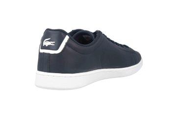 Lacoste CARNABY EVO BL 1 SPM Sneaker in Übergrößen Blau 33SPM1002003 große Herrenschuhe – Bild 3