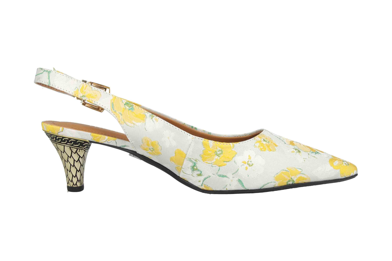 J.Reneé FAYWM Pumps in Übergrößen Mehrfarbig Mayetta Yellow White Multi große Damenschuhe – Bild 4