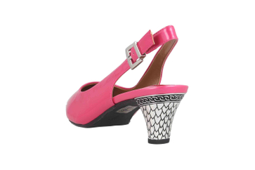J.Reneé PAHOP Pumps in Übergrößen Pink Mayetta Hot Pink große Damenschuhe – Bild 2
