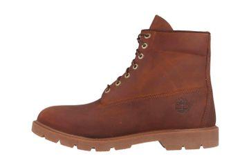 Timberland 6 in Basic Boot-noncontrast collar WP Stiefel in Übergrößen Braun TB0A29DVD601 große Herrenschuhe – Bild 1