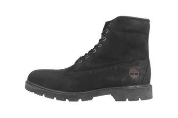 Timberland 6 in Basic Boot-noncontrast collar WP Stiefel in Übergrößen Schwarz TB0100420011 große Herrenschuhe – Bild 1