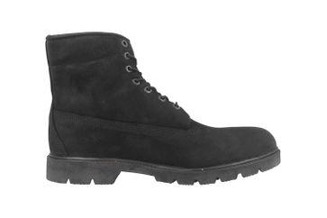 Timberland 6 in Basic Boot-noncontrast collar WP Stiefel in Übergrößen Schwarz TB0100420011 große Herrenschuhe – Bild 4