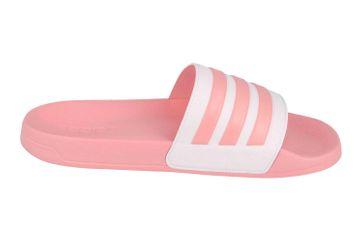 Adidas Adilette Shower Core FTW Slides  Badesandalen in Übergrößen Pink EG1886 große Damenschuhe – Bild 4