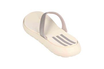 Adidas Comfort Flip Flop Core FTW Slides Zehentrenner in Übergrößen Metallic EG2057 große Damenschuhe – Bild 2