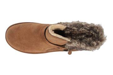 Bearpaw Koko Solids Hickory II Stiefeletten in Übergrößen Braun 2012W 220 große Damenschuhe – Bild 7