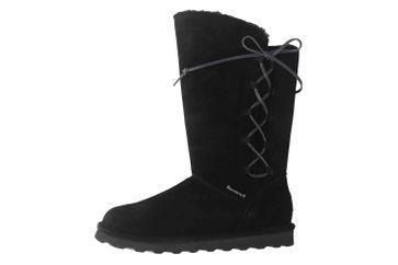 Bearpaw Rita Black II Stiefel in Übergrößen Schwarz 2302W 011 große Damenschuhe – Bild 1