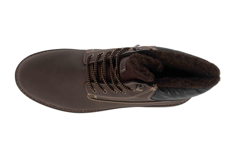 Rieker Herren F7910 Klassische Stiefel, Braun (MoroSchwarz 26)
