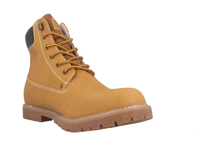 Herrenschuhe große F7910 68 Gelb Übergrößen in Stiefel