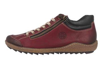 Rieker Stiefeletten in Übergrößen Rot L7516-37 große Damenschuhe – Bild 1