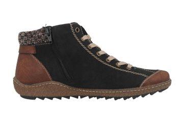 Rieker Stiefel in Übergrößen Braun L7527-22 große Damenschuhe – Bild 4