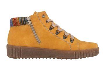 Rieker Stiefel in Übergrößen Gelb M6411-68 große Damenschuhe – Bild 4