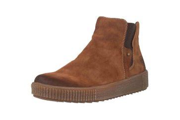 Rieker Stiefel in Übergrößen Braun Y6461-24 große Damenschuhe – Bild 6