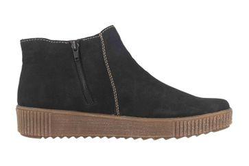 Rieker Stiefel in Übergrößen Schwarz Y6462-00 große Damenschuhe – Bild 4