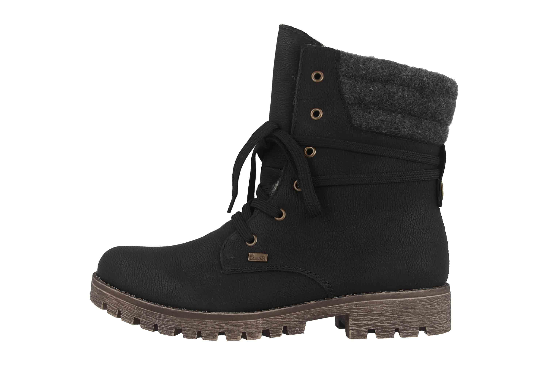 Rieker Stiefel in Übergrößen Schwarz 78531 00 große