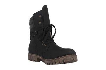Rieker Stiefel in Übergrößen Schwarz 78531-00 große Damenschuhe – Bild 5
