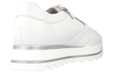 Gabor Jollys Sneaker in Übergrößen Weiss 43.410.21 große Damenschuhe – Bild 3