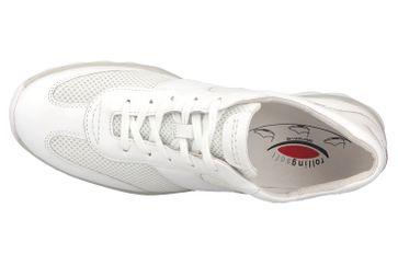Gabor rollingsoft Sneaker in Übergrößen Weiss 46.966.50 große Damenschuhe – Bild 7