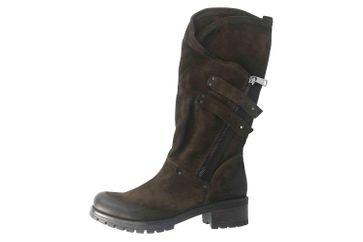 Baboos Stiefel in Übergrößen Oliv 10.04.127 große Damenschuhe – Bild 1