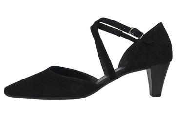Gabor Fashion Pumps in Übergrößen Schwarz 01.363.17 große Damenschuhe – Bild 1