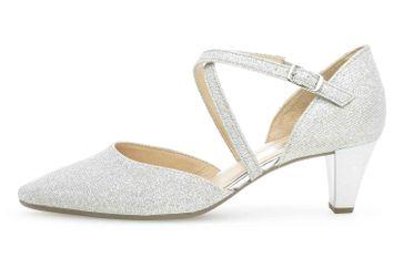 Gabor Fashion Pumps in Übergrößen Silber 01.363.61 große Damenschuhe – Bild 1