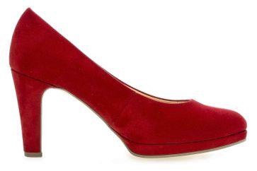Gabor Fashion Pumps in Übergrößen Rot 41.270.55 große Damenschuhe – Bild 4