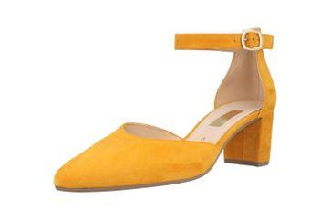 Gabor Fashion Pumps in Übergrößen Gelb 41.340.13 große Damenschuhe – Bild 6
