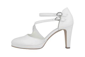 Gabor Fashion Pumps in Übergrößen Weiß 41.370.21 große Damenschuhe – Bild 1