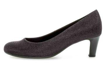 Gabor Fashion Pumps in Übergrößen Schwarz 41.400.67 große Damenschuhe – Bild 1