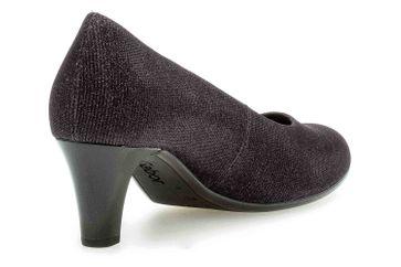 Gabor Fashion Pumps in Übergrößen Schwarz 41.400.67 große Damenschuhe – Bild 3