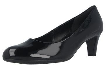 Gabor Fashion Pumps in Übergrößen Schwarz 41.400.77 große Damenschuhe – Bild 6