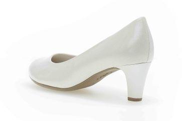 Gabor Fashion Pumps in Übergrößen Weiß 41.400.80 große Damenschuhe – Bild 2