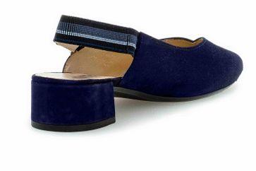 Gabor Fashion Pumps in Übergrößen Blau 41.541.16 große Damenschuhe – Bild 3