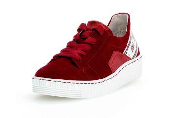 Gabor Jollys Sneaker in Übergrößen Rot 43.331.15 große Damenschuhe – Bild 6