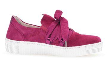 Gabor Jollys Sneaker in Übergrößen Rot 43.333.14 große Damenschuhe – Bild 4