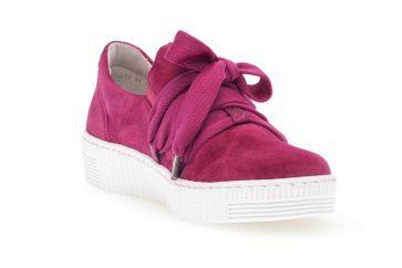 Gabor Jollys Sneaker in Übergrößen Rot 43.333.14 große Damenschuhe – Bild 5