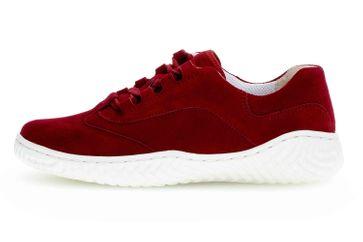 Gabor Jollys Sneaker in Übergrößen Rot 43.380.15 große Damenschuhe – Bild 1
