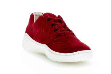 Gabor Jollys Sneaker in Übergrößen Rot 43.380.15 große Damenschuhe – Bild 5