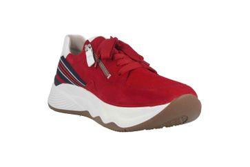 Gabor Jollys Sneaker in Übergrößen Rot 43.492.15 große Damenschuhe – Bild 5