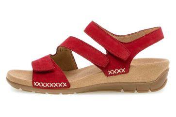 Gabor Jollys Sandaletten in Übergrößen Rot 43.734.35 große Damenschuhe – Bild 1