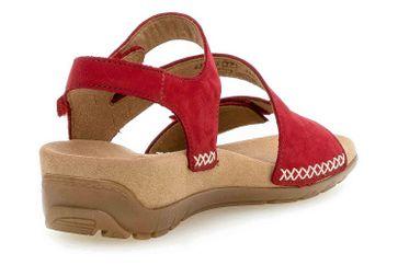Gabor Jollys Sandaletten in Übergrößen Rot 43.734.35 große Damenschuhe – Bild 3