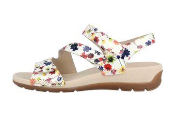 Gabor Jollys Sandaletten in Übergrößen Weiß 43.734.90 große Damenschuhe – Bild 1