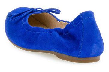 Gabor Casual Ballerinas in Übergrößen Blau 44.120.18 große Damenschuhe – Bild 2