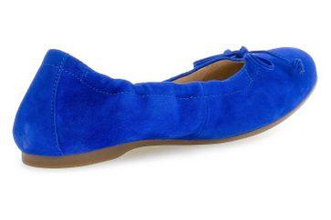 Gabor Casual Ballerinas in Übergrößen Blau 44.120.18 große Damenschuhe – Bild 3