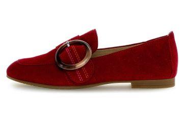 Gabor Casual Slipper in Übergrößen Rot 44.212.15 große Damenschuhe – Bild 1