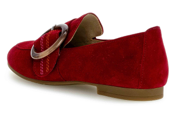 Gabor Casual Slipper in Übergrößen Rot 44.212.15 große Damenschuhe – Bild 2